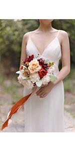 Bridesmaid flower Bouquer