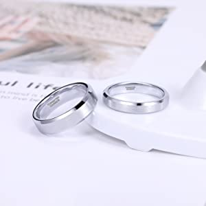 Tungsten Carbide Rings for Couples