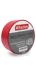 "XFasten Acrylic Mounting Tape 2"" x 450"""