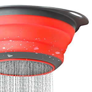 collapsible strainers