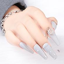 Ballet nail art effect 4