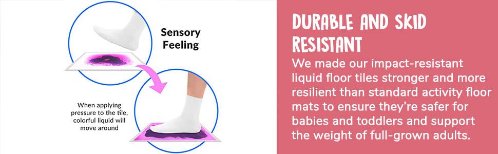 Sensory Liquid Tiles