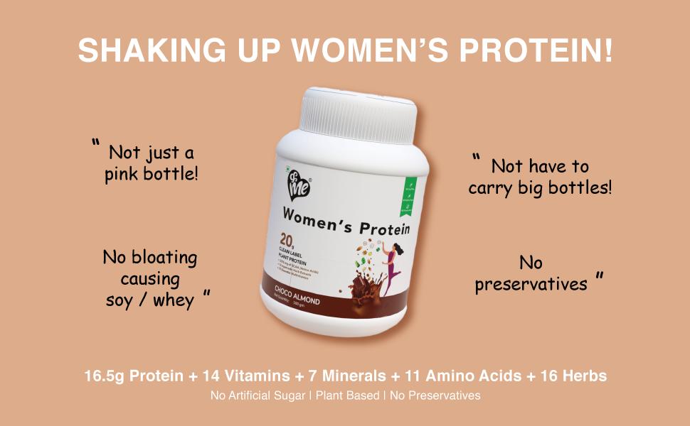 women wellness supplement protein drink shake plant protein powder  plant protein plant based protei