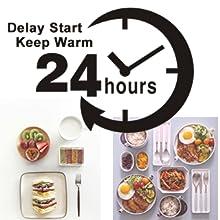 24 Hours Delay Start & Keep Warm