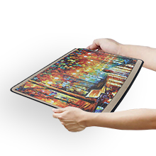 puzzle mat with cover