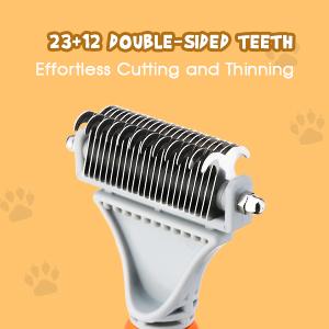 2 sided teeth