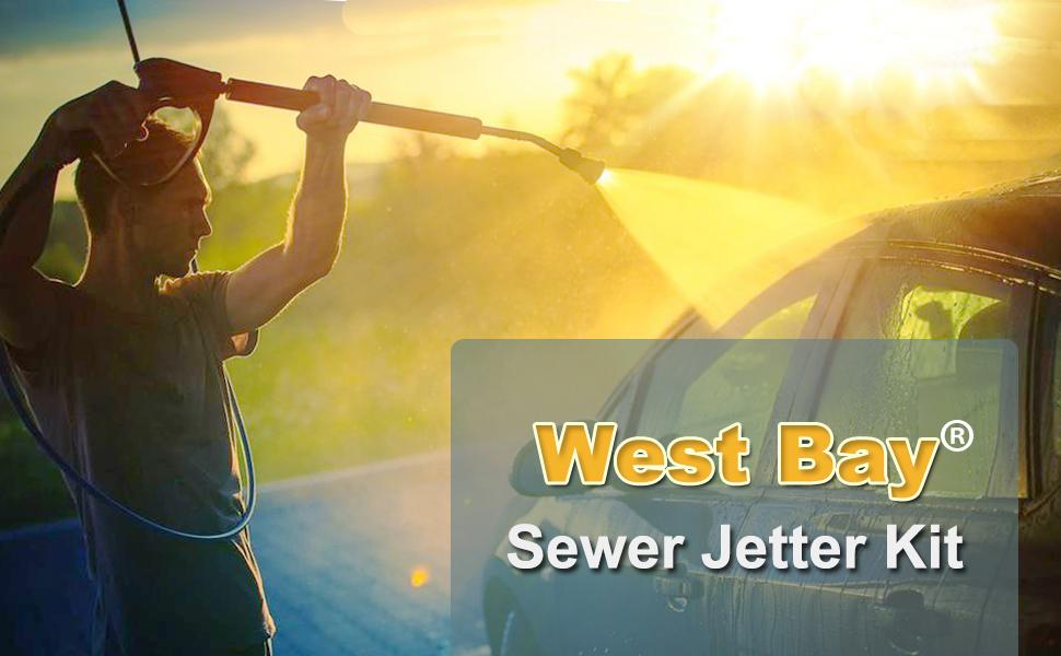 sewer jetter kit