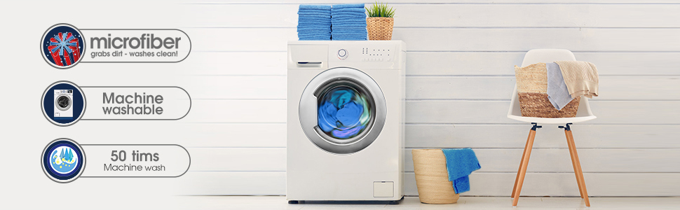 Machine washable durable