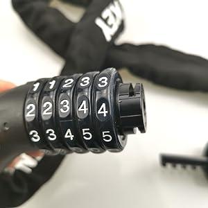 bike chain lock