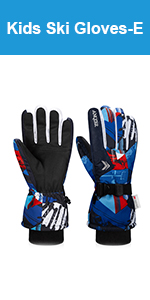 Boys Winter Snow Gloves