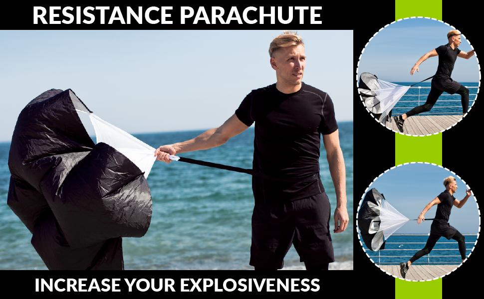 running parachute resistance parachute speed parachute increase explosiveness