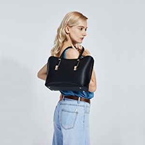 Candelabros para mujer diseñador hermoso azul clásico chic de imitación de hombro bolso de mano
