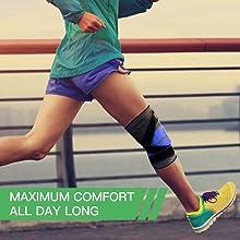 3d pressurized knee support