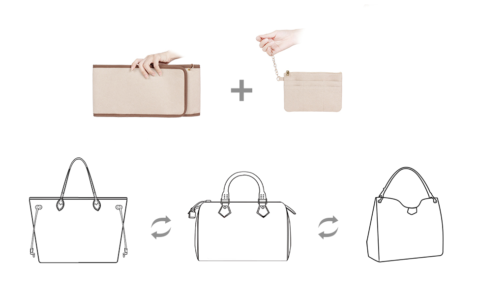 Swifit Your Purse In One Second Without Reorganized !