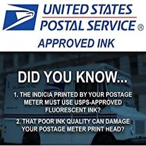 UNITED STATES POSTAL SERVICE APPROVED INK