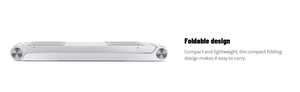 Portable Foldable Design