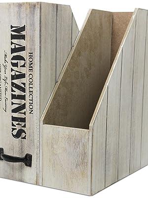 Zeitschriftensammler aus Holz