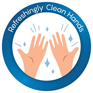 hand sanitizer cleans your hands without use of water
