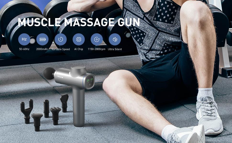 muscle massage gun massager