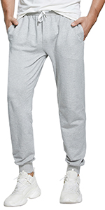 grey sweatpants men