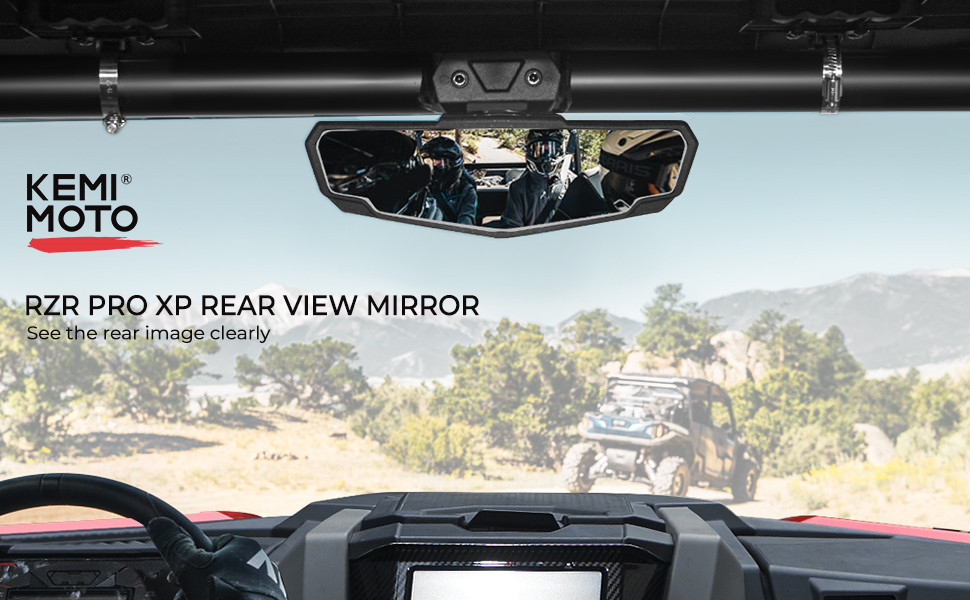 RZR PRO XP centre mirrors