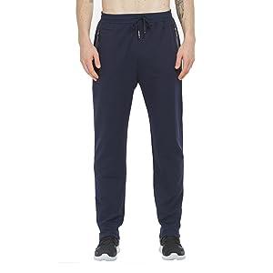 Blu Pantaloni Sportivi Uomo