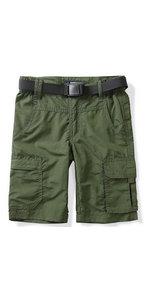 boys quick dry cargo shorts