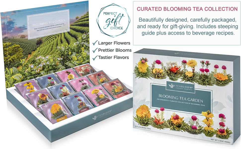 Flowering Tea Chest Gift Set