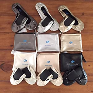 Cinderollies Foldable Ballet Flats