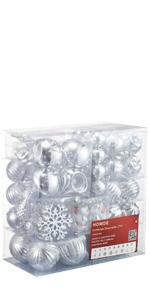 Christmas Ornaments 77ct