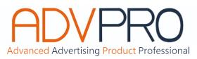 ADVPRO Logo Advance Advertising Professional Products