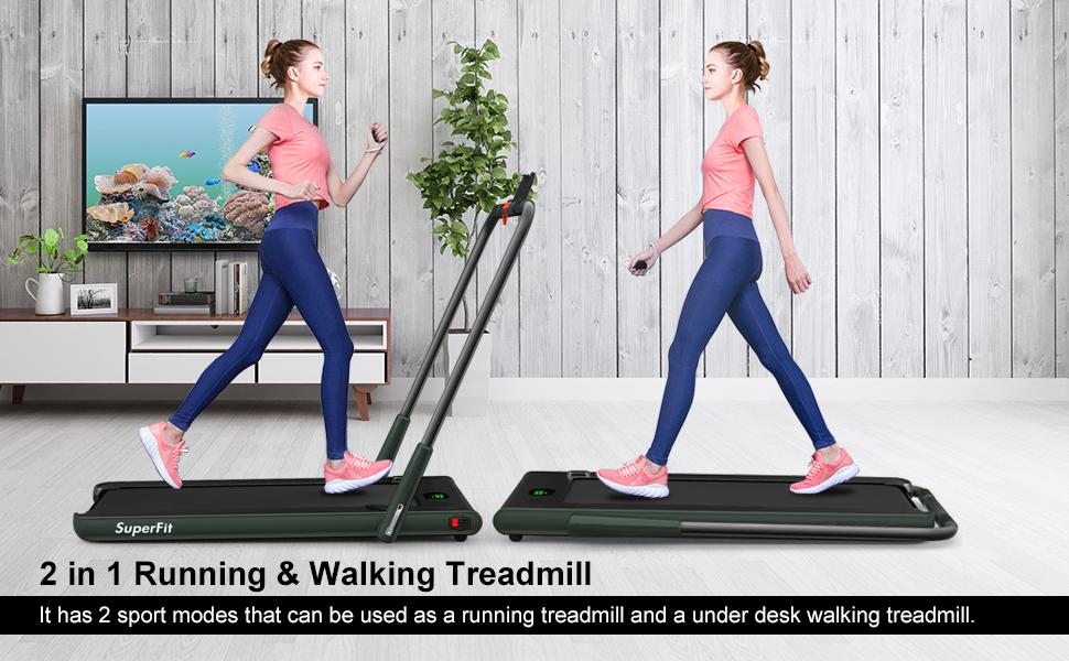 2 in 1 multifunctional treadmill