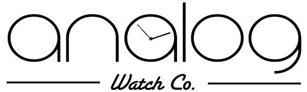 アナログウォッチコー ロゴ