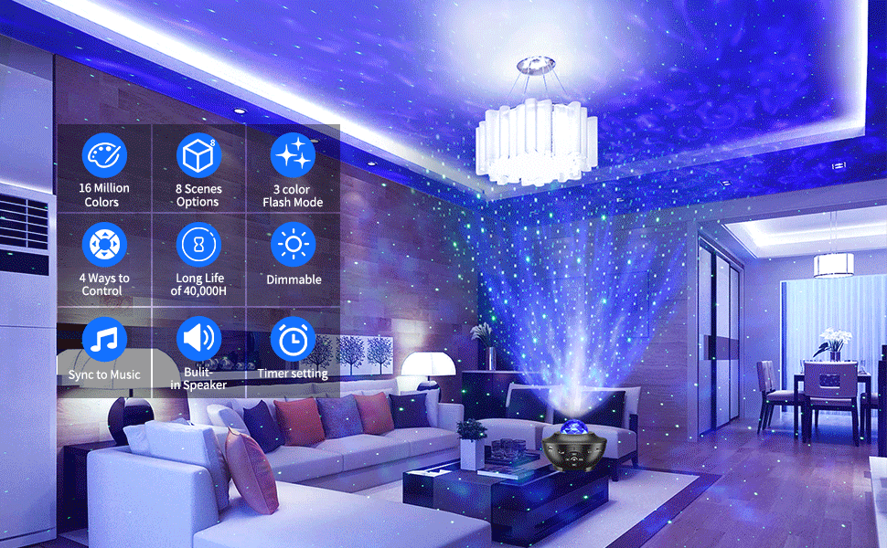 Galaxy Star light projector
