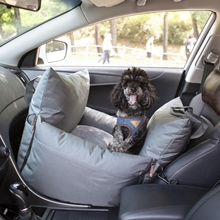 Dog Car Seat with Front & Back Protection Pillows