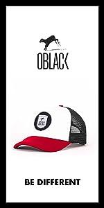 Oblack Gorra Trucker Gray Portland Gris Beisbol Ajustable con ...
