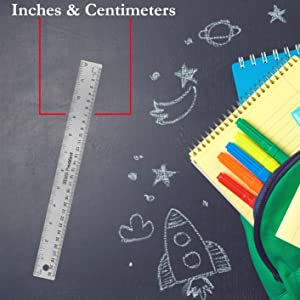 METRIC AND INCHES