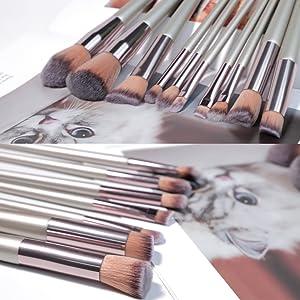 Eye Makeup Brushes Set Eyeshadow Brush Foundation Powder Eyeliner Eyelash