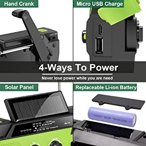 4 WAYS TO POWER