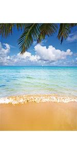 Tropical Sea Backdrop