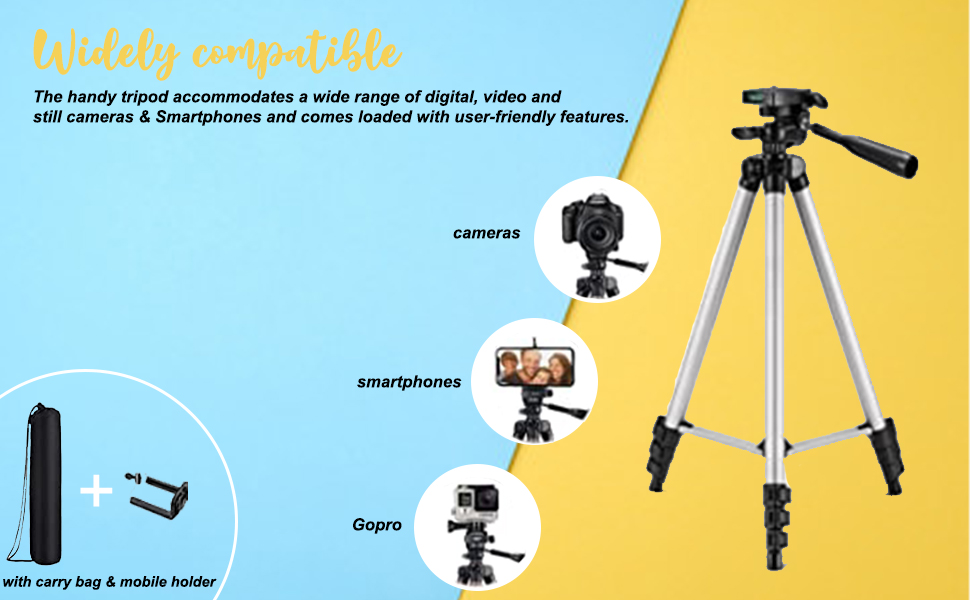 Best Tripods in India 2021
