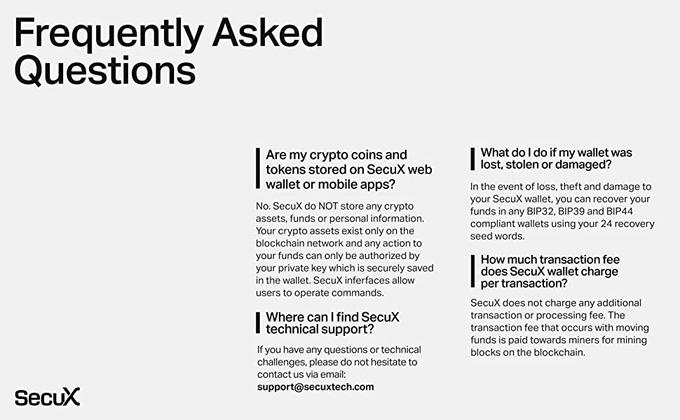 About SecuX