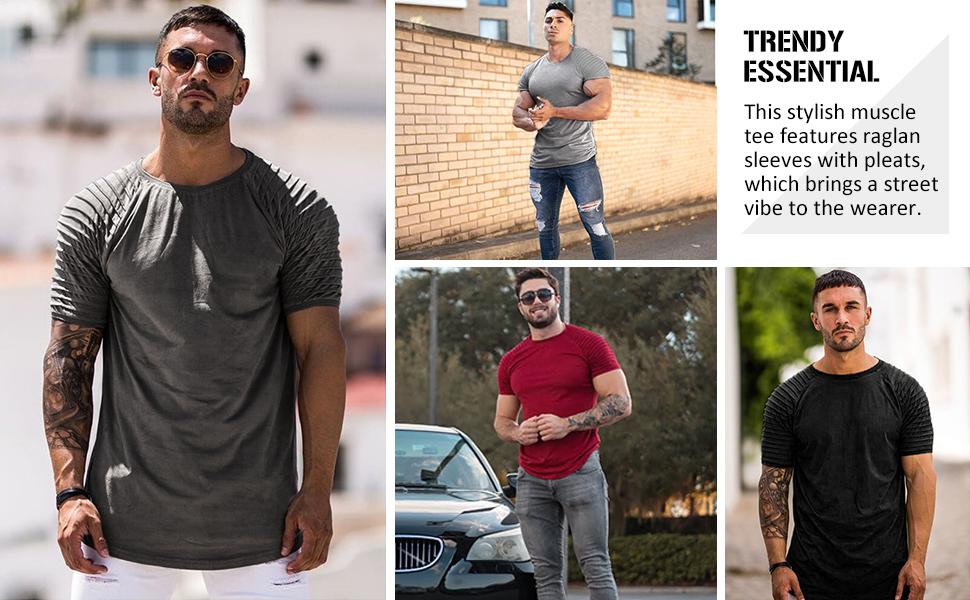 men muscle shirt