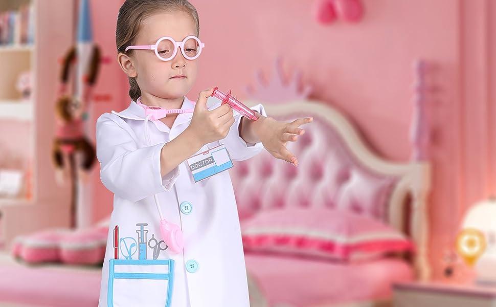 doctor costume kids toddler