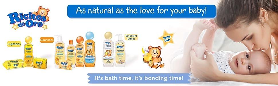 Ricitos de Oro Chamomile Baby Shampoo Baby Soaps Baby wipes
