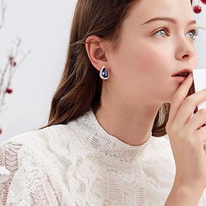 bridal stud earrings for bride