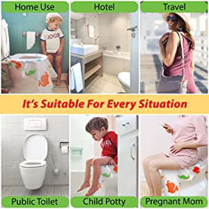 potty training toilet seat covers