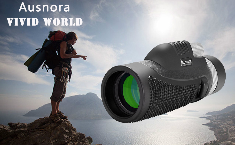 Explore the distant world with Ausnora Monoculars! Capture beauty and Share happiness with others!