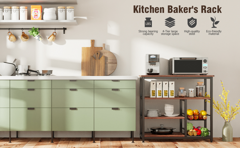 Kitchen Baker's Rack