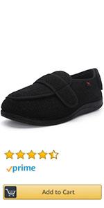 Women Men Adjustable Wide Shoes Swollen Feet Diabetic Edema Slippers Unisex Indoor Outdoor SHOES